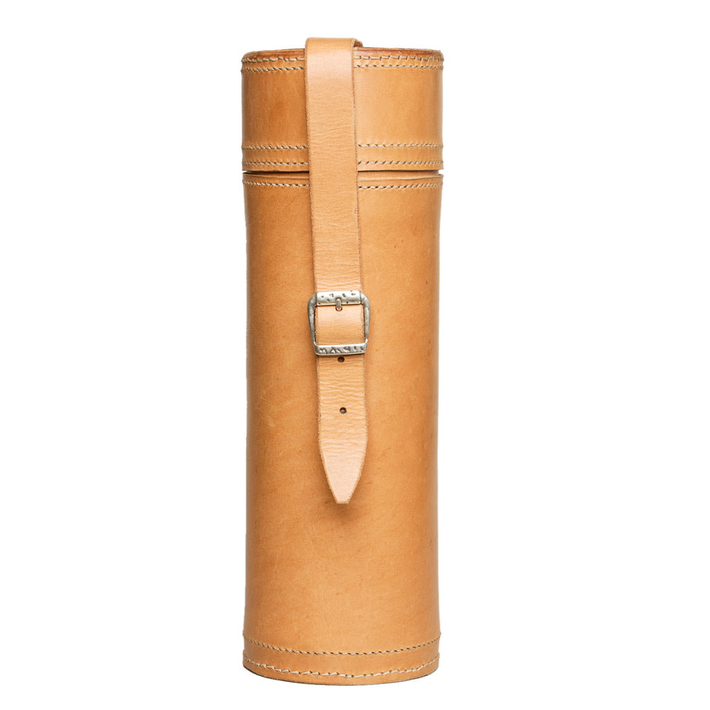 Leather bottle carrier, For home, Good Old Company - Hraun- Art and design