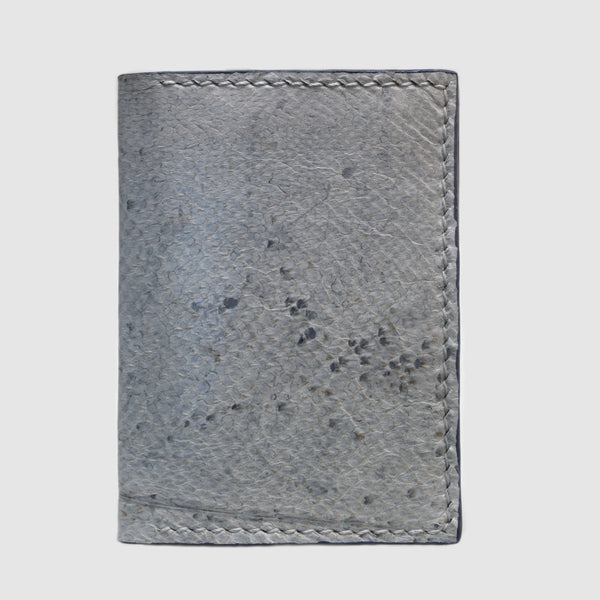 Natural Cod bifold fish leather card wallet