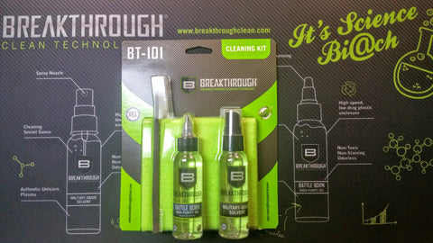BreakThrough BT-101 Cleaning Kit