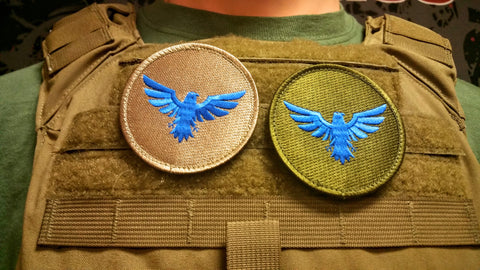 Buddy Fucker a.k.a. Blue Falcon Patch