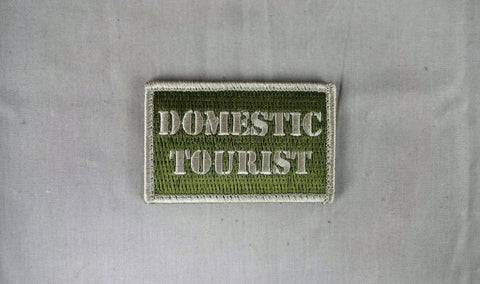 Domestic Toursist Patch