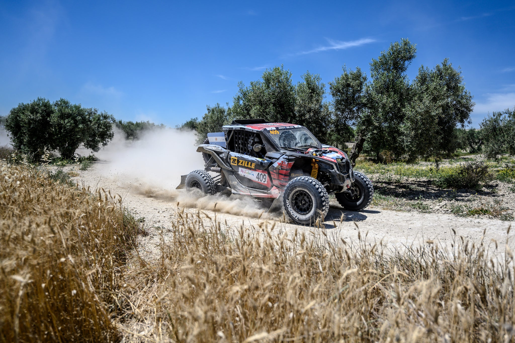 """Tensor Tire, South Racing, David Zille, DS 30"""", Andalucia Rally"""