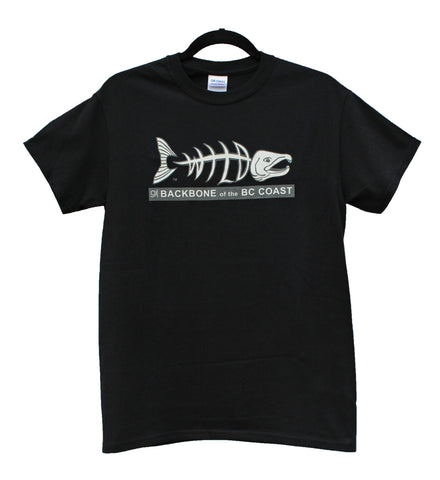 Backbone of the BC Coast Wild Salmon T-Shirt