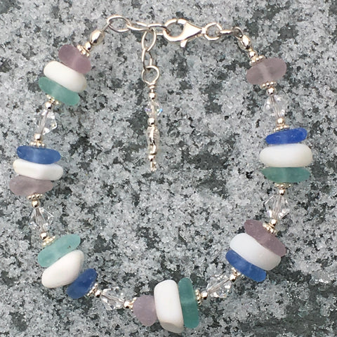 Rare Sea Glass Bracelet