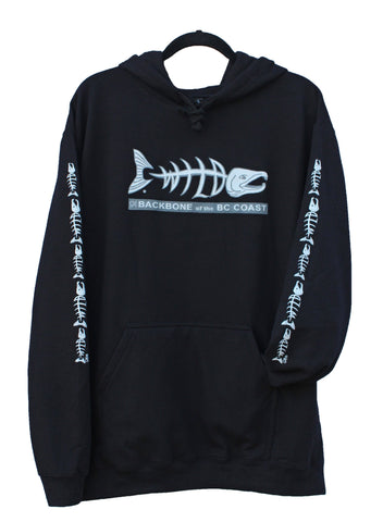 Backbone of the BC Coast Wild Salmon Hoodie