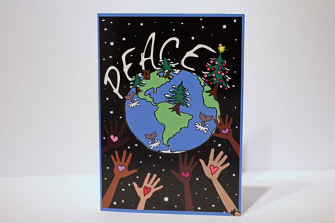 "Christmas Card ""Peace on Earth"""