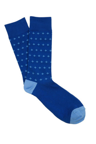 Blue Cross Socks