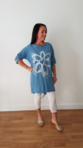 Cool Light Denim Tunic