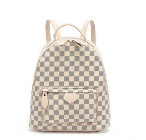 Gucci Inspired Rucksack In Nude
