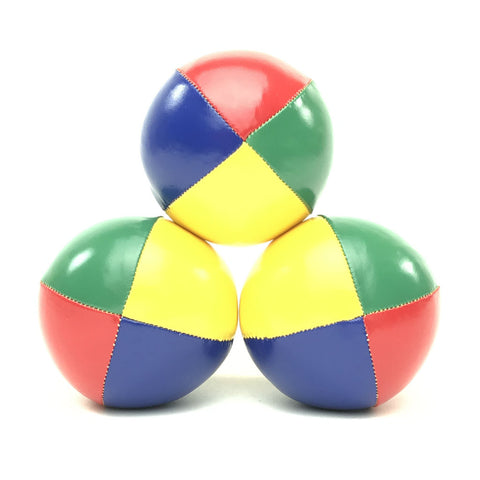 Classic Juggling Balls - Red-Blue-Yellow-Green - Balls for your mind