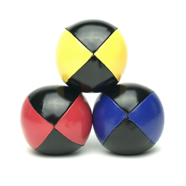 Juggling Balls Smart Blacktone - Red-Blue-Yellow - Balls for your mind