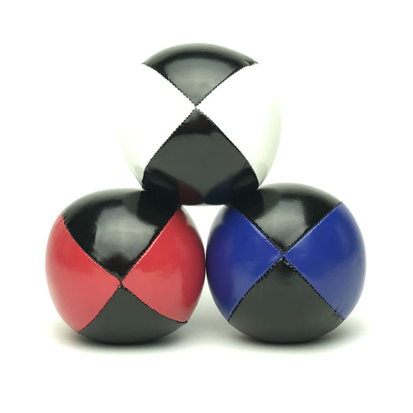 Juggling Balls Smart Blacktone - Red-Blue-White