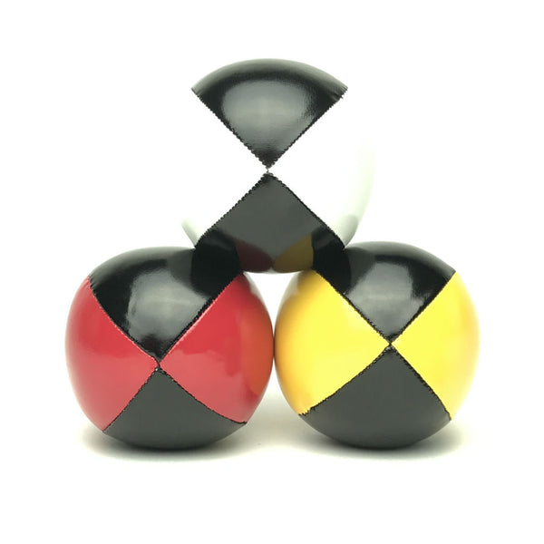 Juggling Balls Smart Blacktone - Red-Yellow-White - Balls for your mind