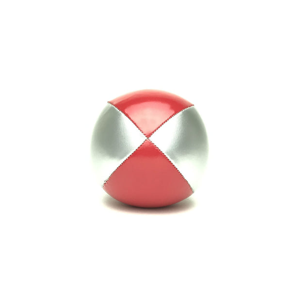 Juggling Balls Smart Silvertone - Red