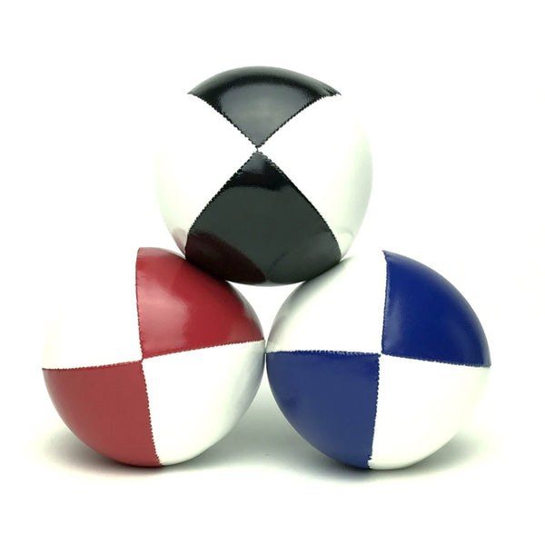 Juggling Balls Smart Whitetone - Blue-Red-Black