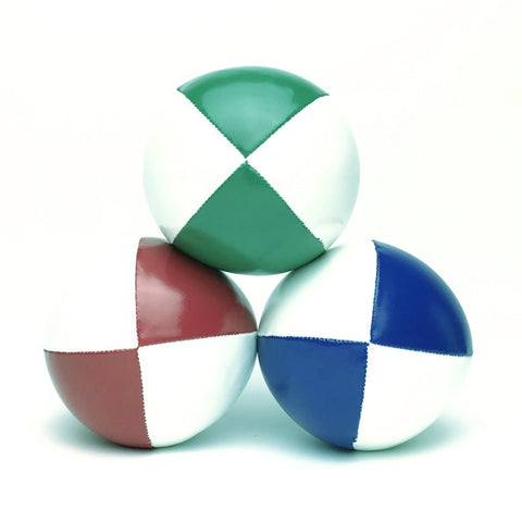 Juggling Balls Smart Whitetone - Red-Blue-Green - Balls for your mind