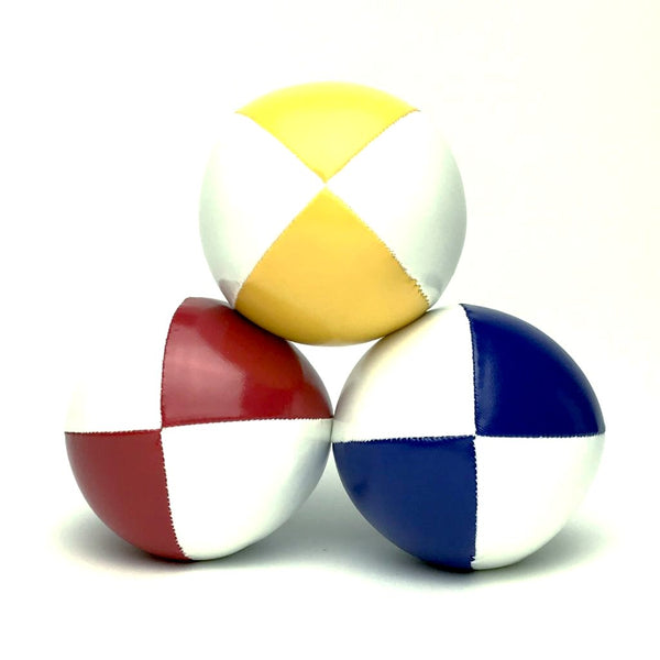 Juggling Balls Smart Whitetone - Red-Blue-Yellow