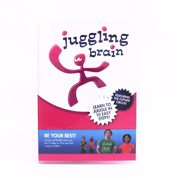 Learn how to juggle DVD - Juggling Brain - Balls for your mind
