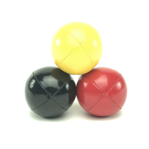 Juggling balls - smart kids – red yellow black - Balls for your mind