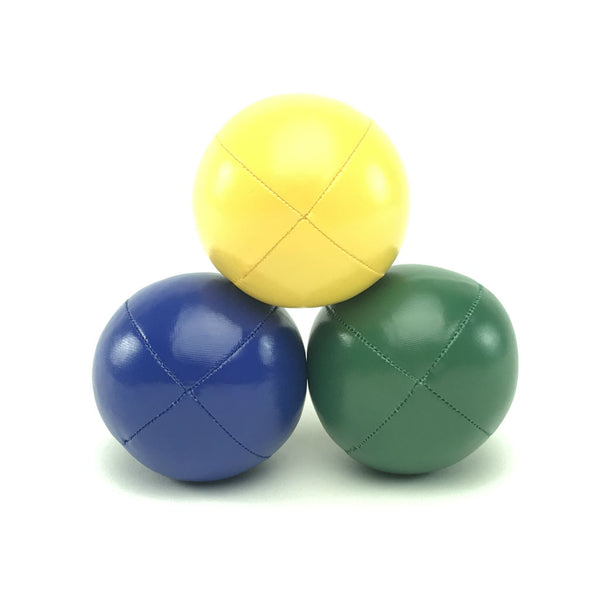 Juggling balls – smart kids – yellow blue green