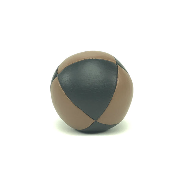 Ultra Australian Made Juggling Ball-BrownBlack-BallsForYourMind