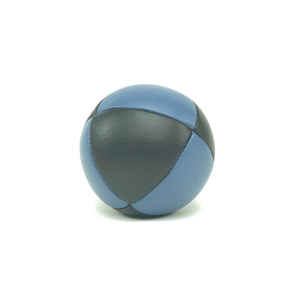 Prestige-Australian Made Ultraleather Juggling Ball-BlueBlack-BallsForYourMind