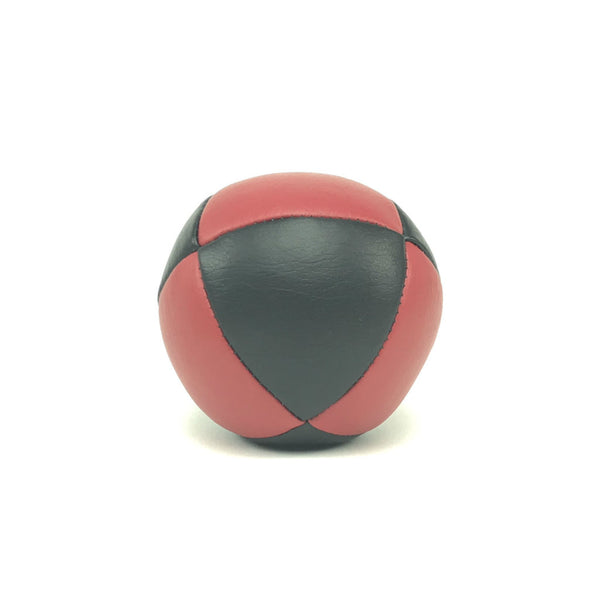 Prestige-Australian Made Ultraleather Juggling Ball-RedBlack-BallsForYourMind