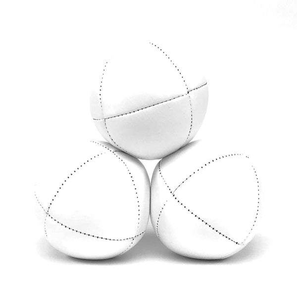 Prestige-Australian Made Ultraleather Juggling Ball-White-BallsForYourMind