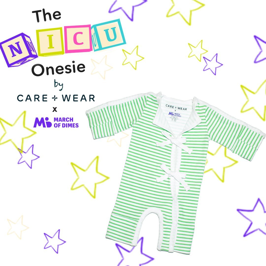 Care+Wear Launches Innovative NICU Bodysuit To Benefit March of Dimes