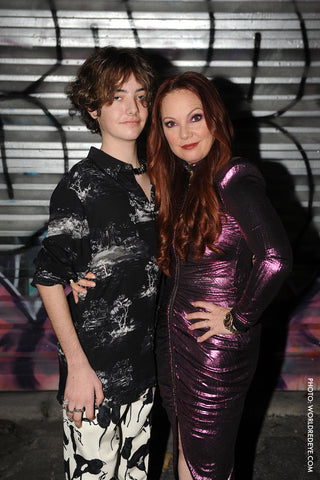 Mindy Scheier, Founder and CEO of Runway of Dreams and her son Oliver