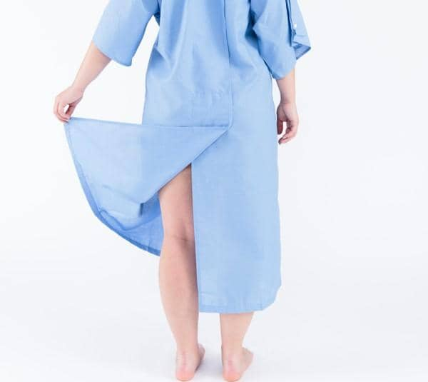 The Patient Gown by Care+Wear x Parsons