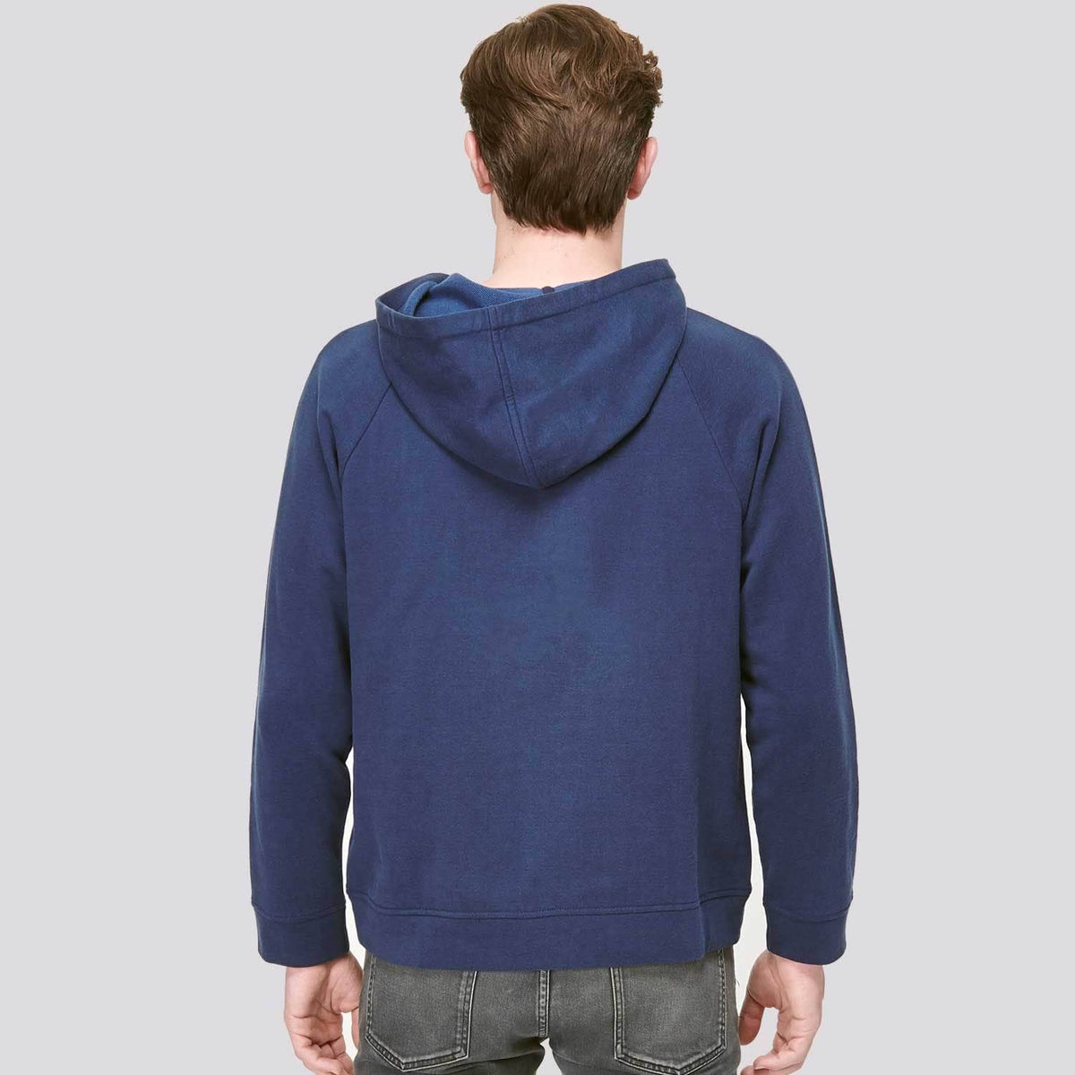 Chemo Port Access Hoodie Mens Back
