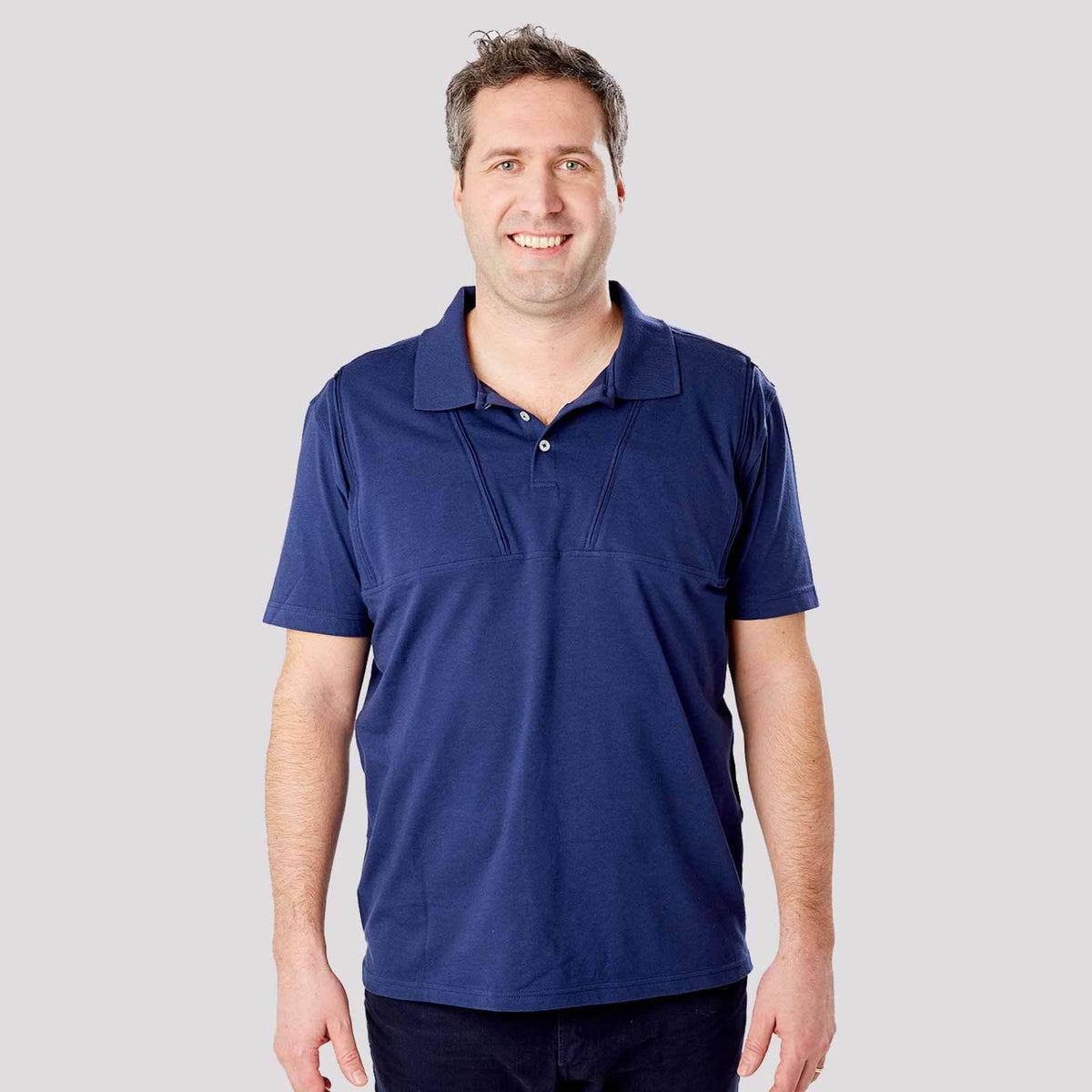Men's Dual Chest Port Access Polo