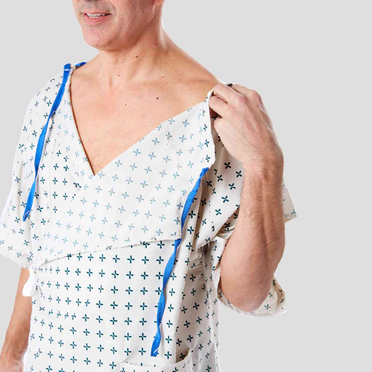 Hospital Gown by Care+Wear x Parsons IV Accessible