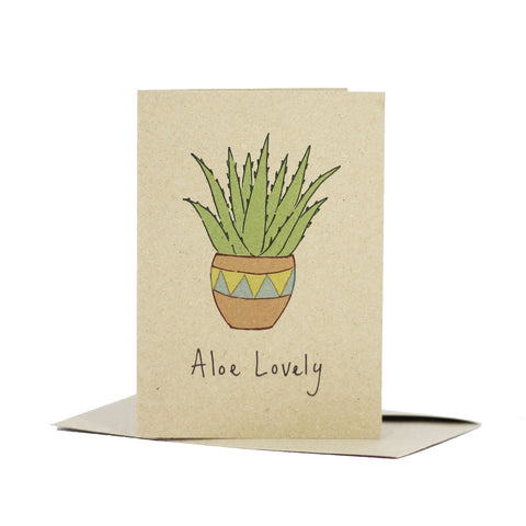 Aloe lovely (Kraft Brown) - Pack of 5