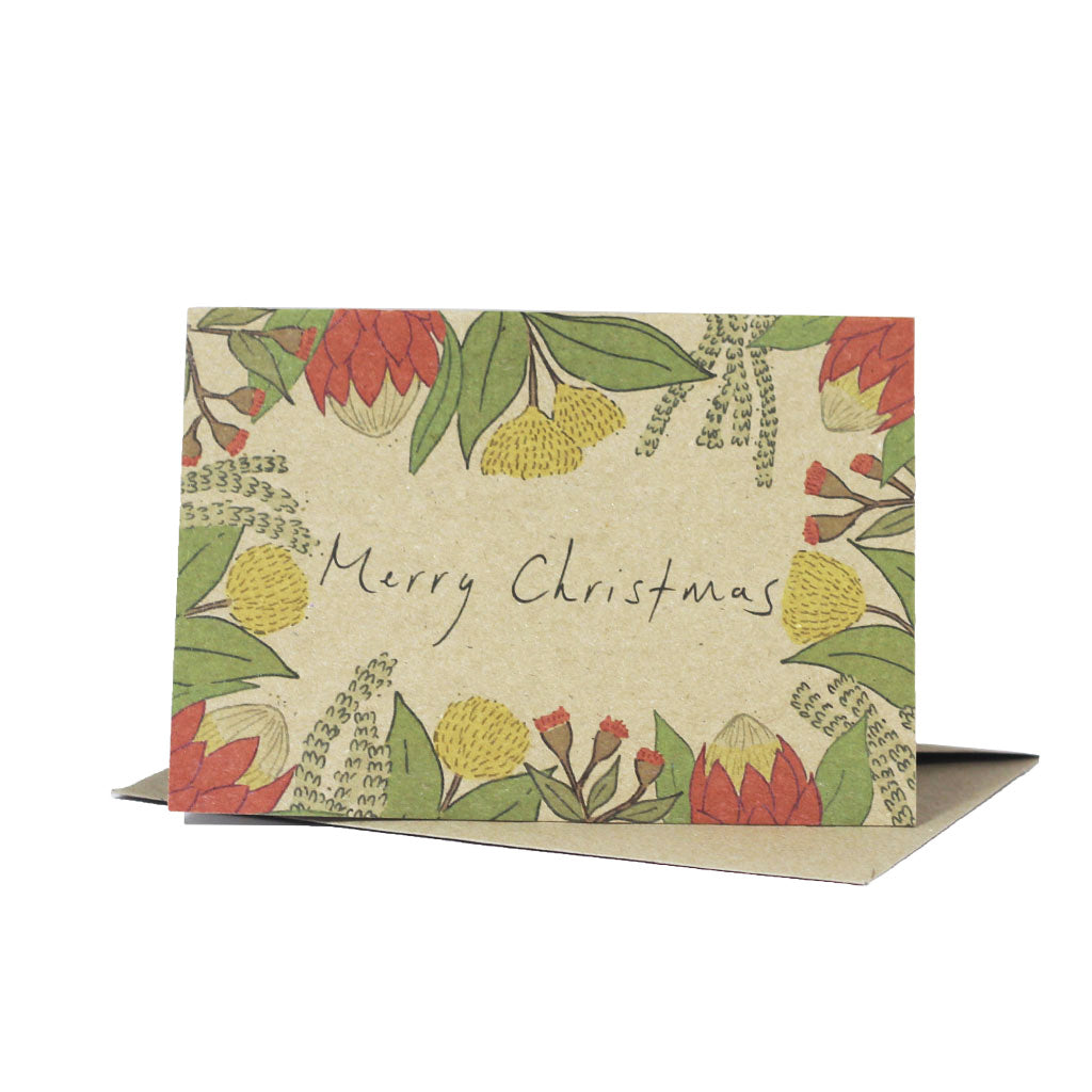 Christmas Natives (Kraft) - Pack of 5