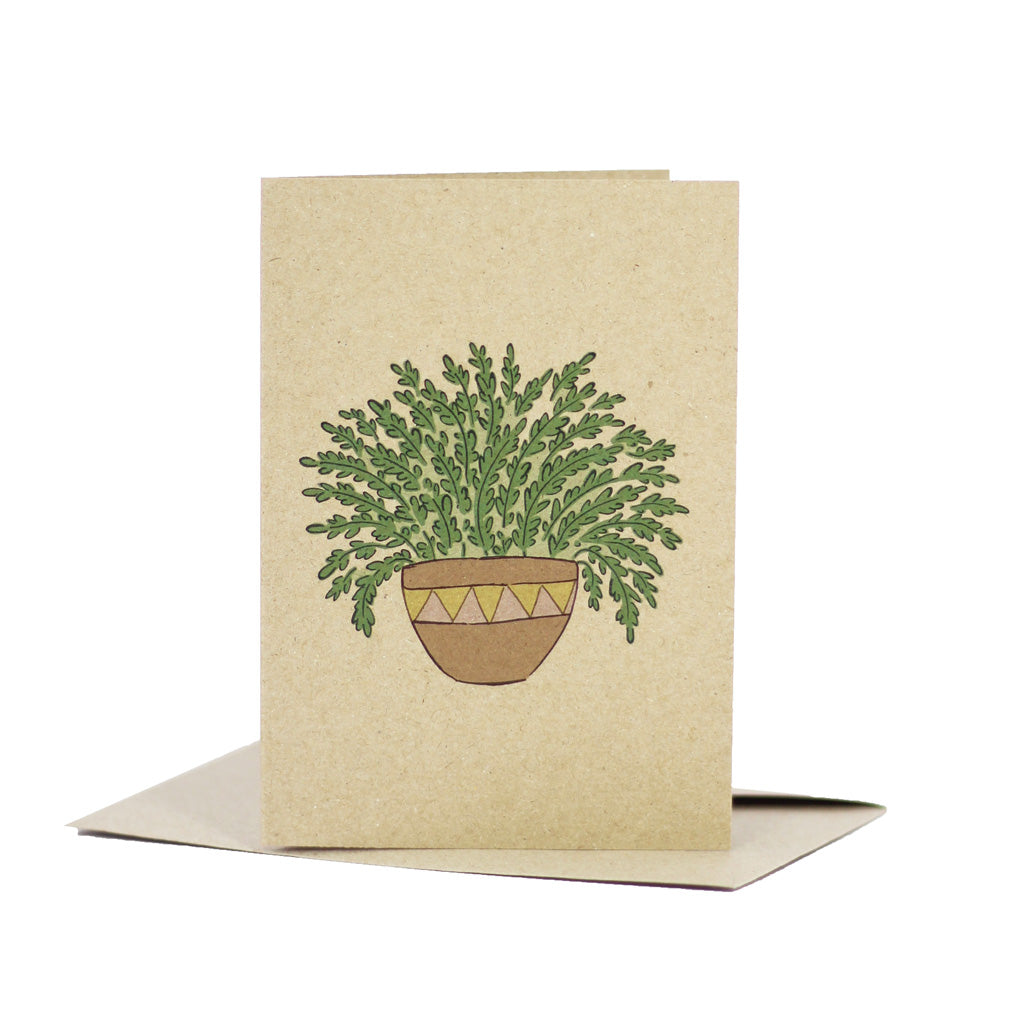 Love fern (Kraft Brown) - Pack of 5