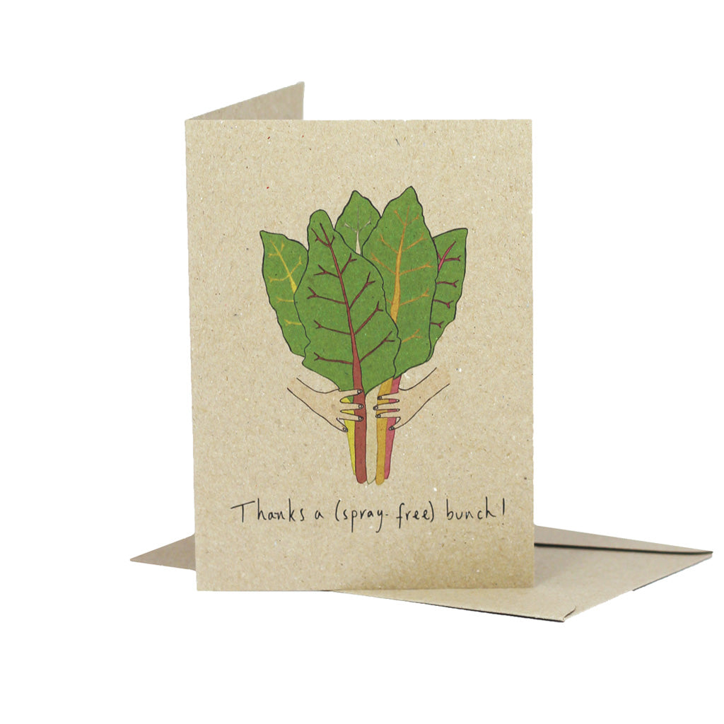 Thanks a Spray Free Bunch (Kraft) - Pack of 5