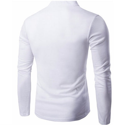 Casual Button Long Sleeve