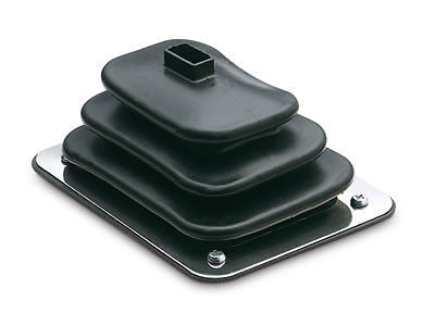 Hurst Qualifier SMALL rubber floor boot for chrome shifter sticks