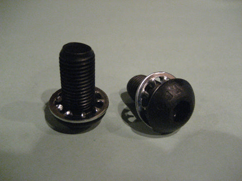 "Bolts for stick brackets or tight spaces (3/8""-24 x 3/4"" button head)"