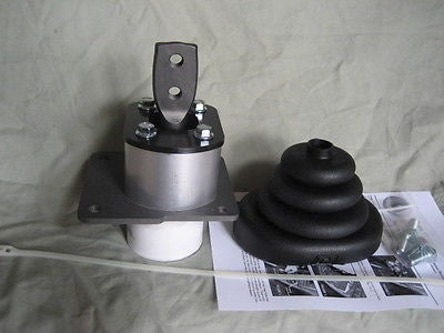 Shifter base for T4 or T5 swap from 1982-1995 S10 truck