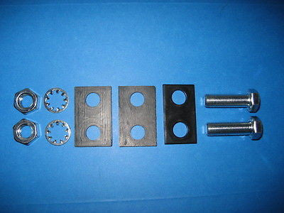 Rubber isolator pad kit for Hurst sticks anti-vibration NVH reduction