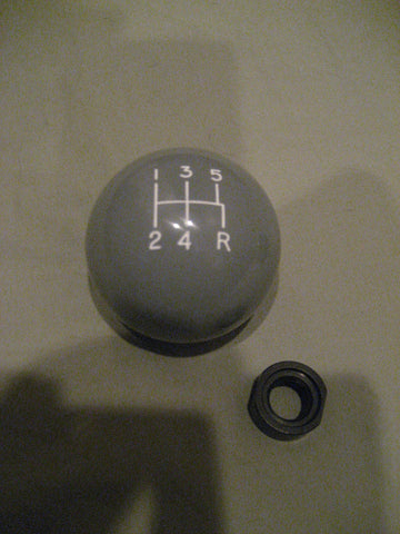 5 speed engraved shift knob GRAY: M12 x 1.25 for Toyota Pickup Hilux Tacoma 4Runner