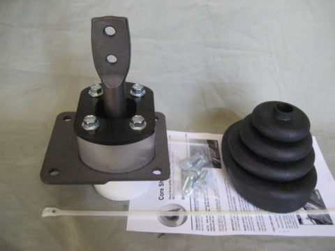 Shifter base for T5 swap from 1983-2002 Camaro / Firebird using rotated bellhousing