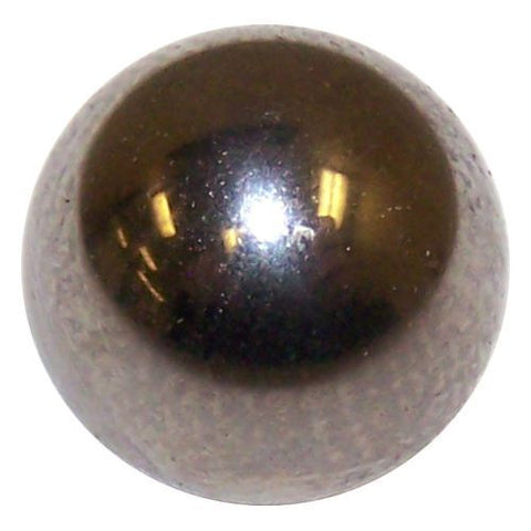 "Solid steel ball shift knob : 3/8""-24 for old Hurst + 4 speed trucks"