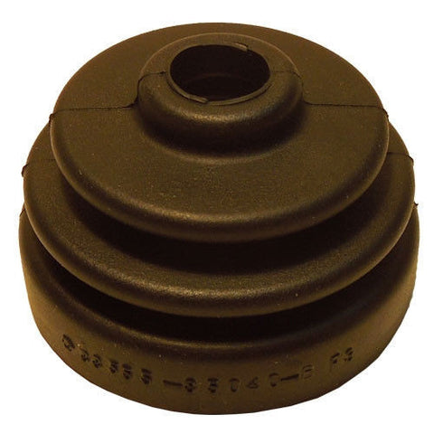 Rubber dust boot for OE shifter base on Toyota trucks - ROUND