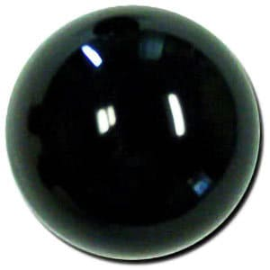 "2 1/8"" Round Plain Shift Knob: M16 x 1.50 for 1982-2002 Camaro & Firebird"