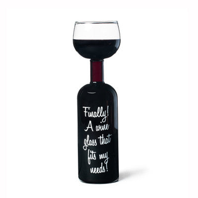 Finally! Wine Glass