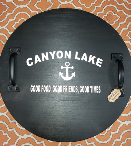 Lazy Susan Spin Trays